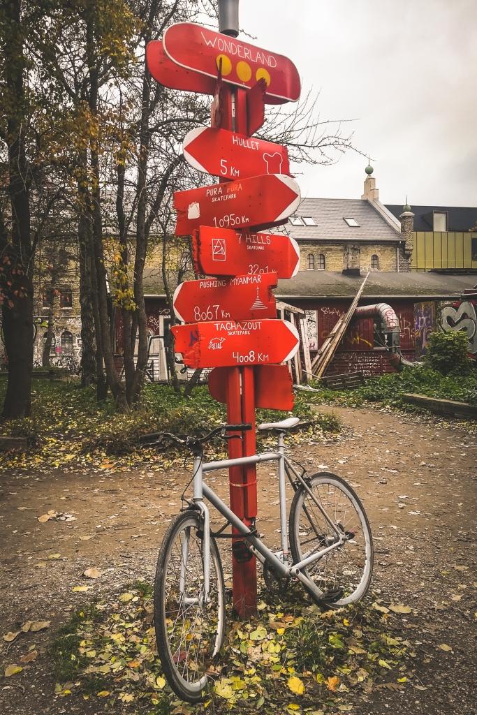 Trouver son chemin à Christiania